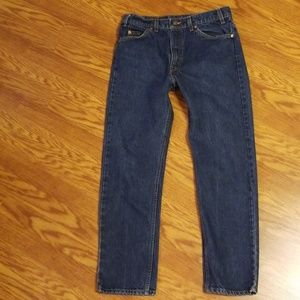 Levi's 505 Regular Fit Straight Leg Jeans  34 X 30